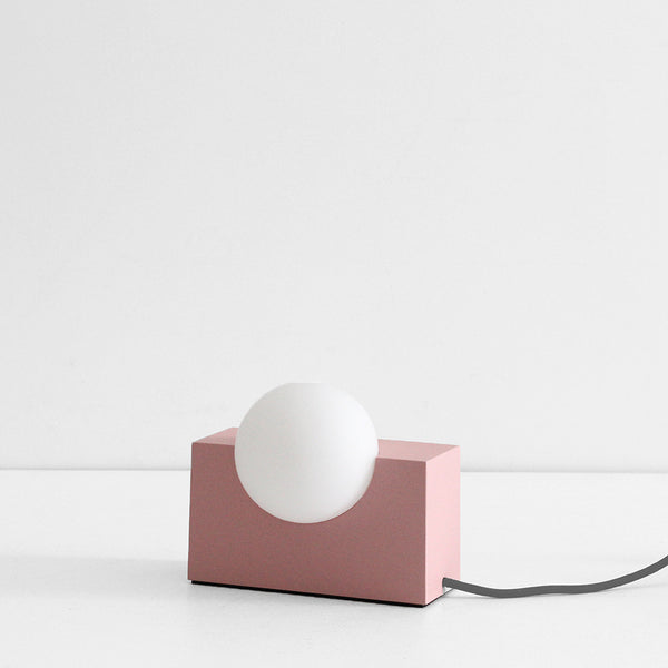 Form Light - Rectangle Pink
