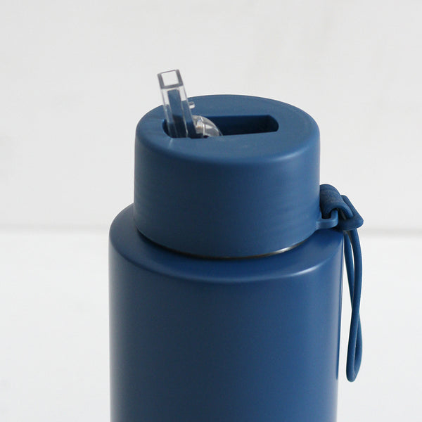 Frank Green Ceramic Reusable Bottle - Deep Ocean 1L