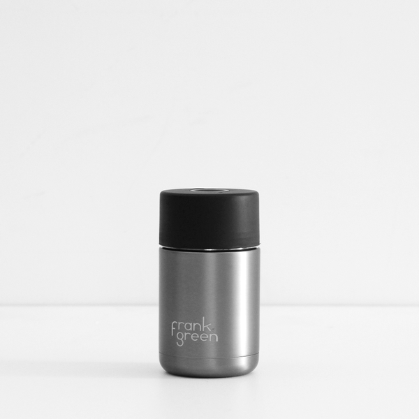 Frank Green Stainless Steel Reusable Cup - Gunmetal Grey