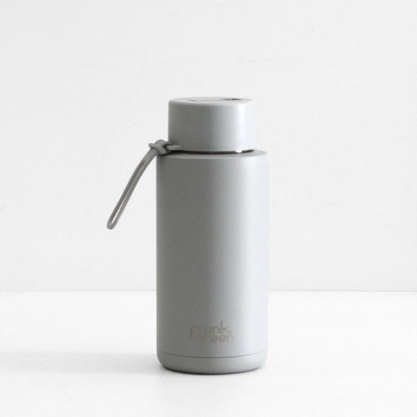 Frank Green Ceramic Reusable Bottle - Harbour Mist 1L