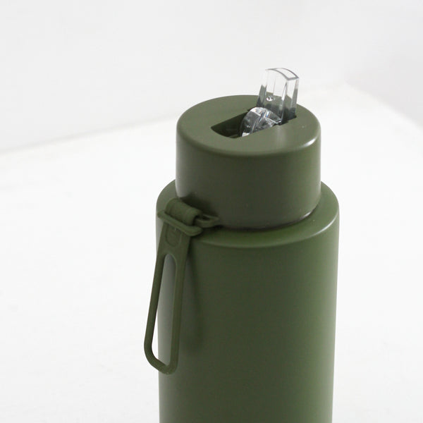 Frank Green Ceramic Reusable Bottle - Khaki 1L