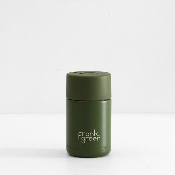 Frank Green Ceramic Reusable Cup - Khaki 10oz