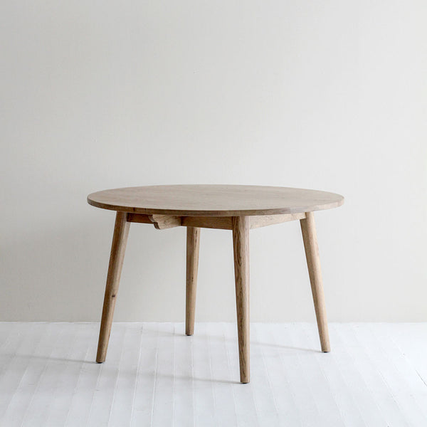 Frankie Oak Round Dining Table