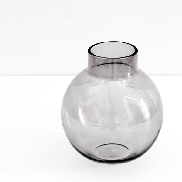 Franklyn Glass Vase Large - Taupe