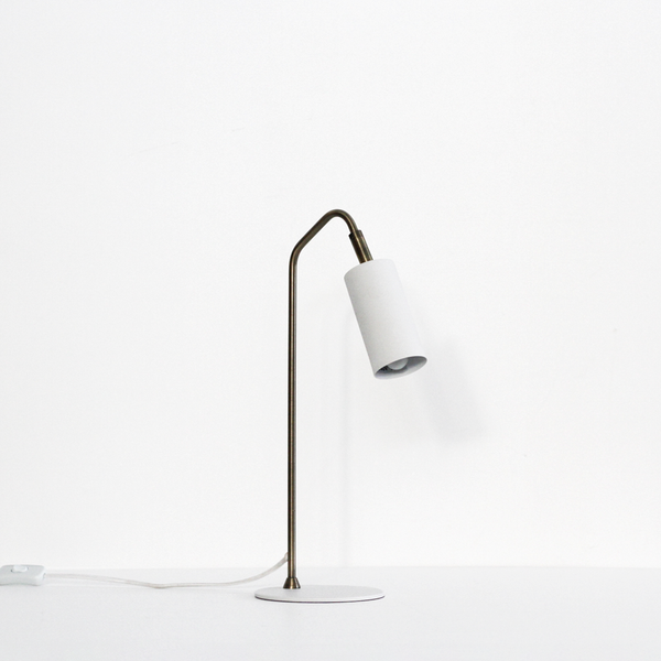 Gem Table Lamp - White
