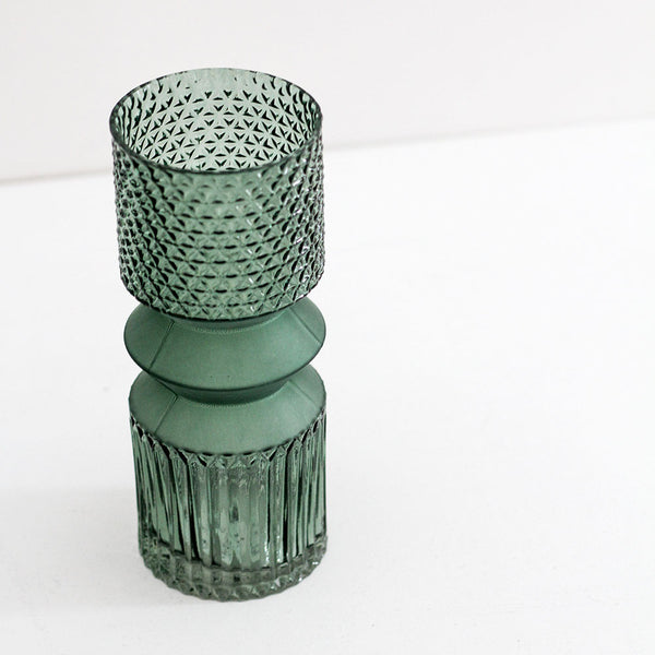 Geometric Glass Vase