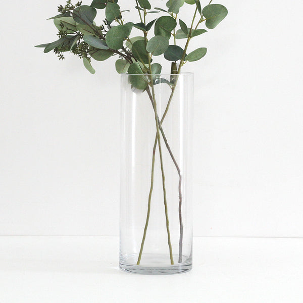 Glass Cylinder Vase Tall