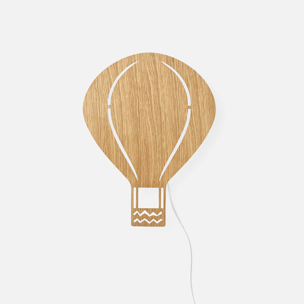 Air Balloon Lamp - Oak
