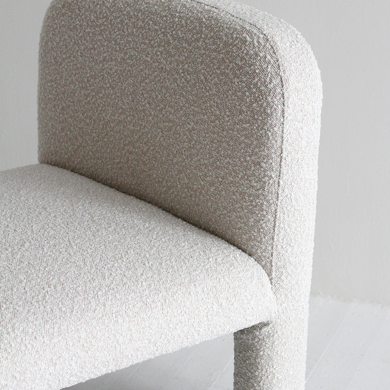 Hugo Arch Occasional Chair - Boucle