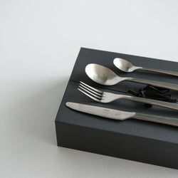 Hune Cutlery Brushed Satin