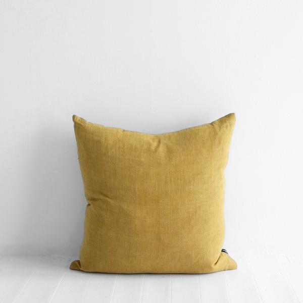 Indira Cushion Ochre