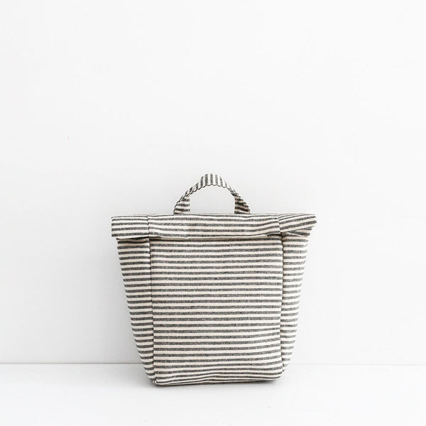 Isola Insulated Lunch Bag - Stripe Canvas