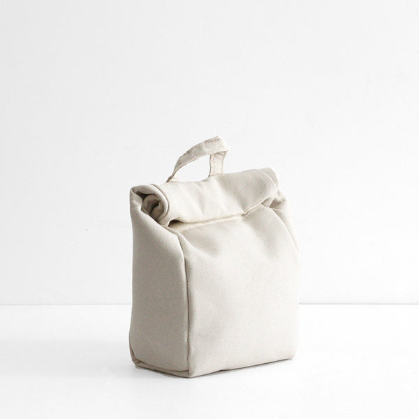 Isola insulated lunch bag - white