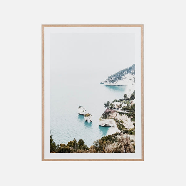 Italian Cove Framed Art