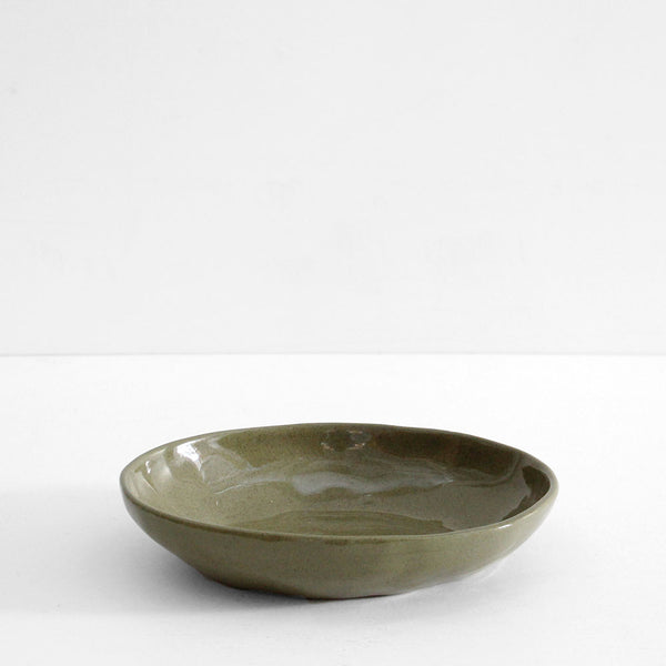 Ceramic Large Bowl - Sage