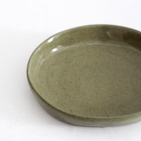 Ceramic Small Tapas Plate - Sage