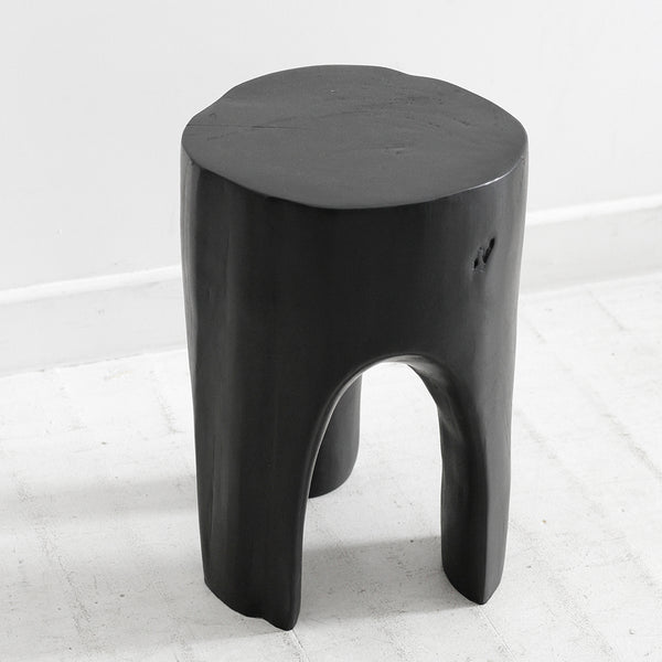 The Peg Side Table - Black