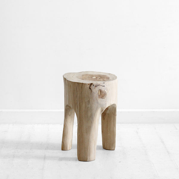 The Peg Side Table - Natural