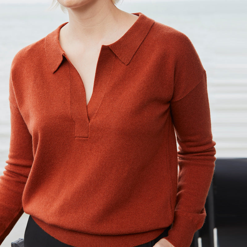 James Polo Sweater - Clay