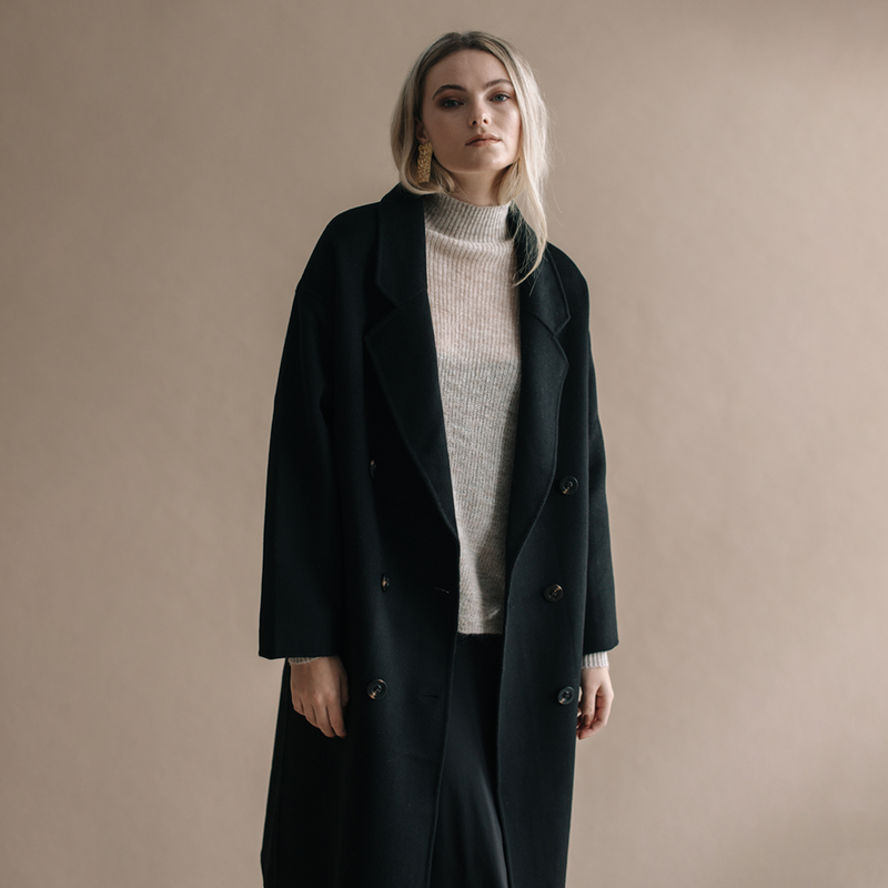 Jane Winter Coat - Black