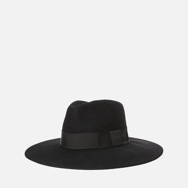 Joanna Felt Hat - Black