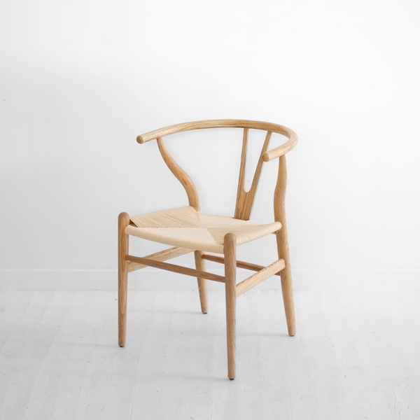 Joffre Wishbone Dining Chair - Natural