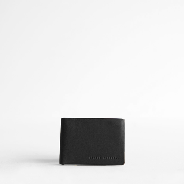 Status Anxiety Jonah Wallet- Black
