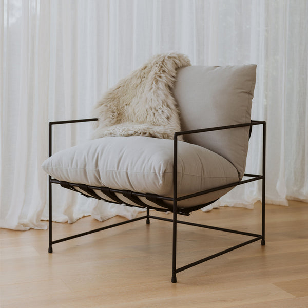Kara Swing Chair - Sand