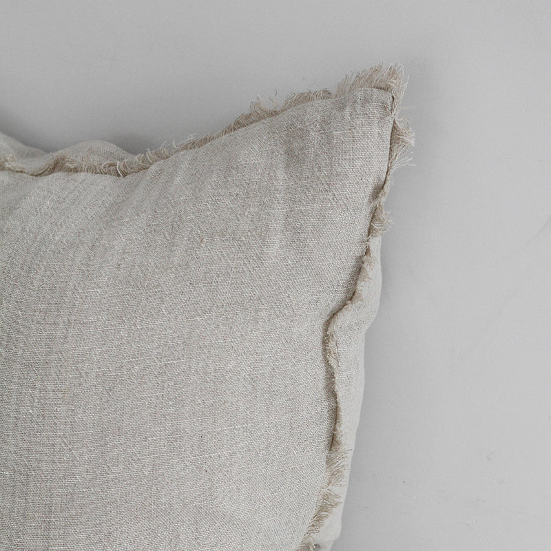 Keaton Cushion  - Cream/Natural