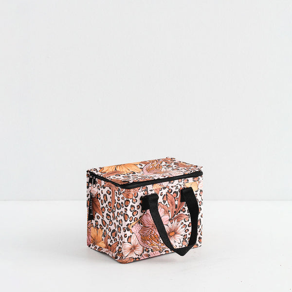 Leopard Floral Lunch Box