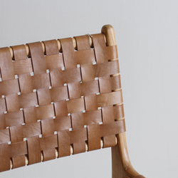 Kriss Cross Chair - Tan