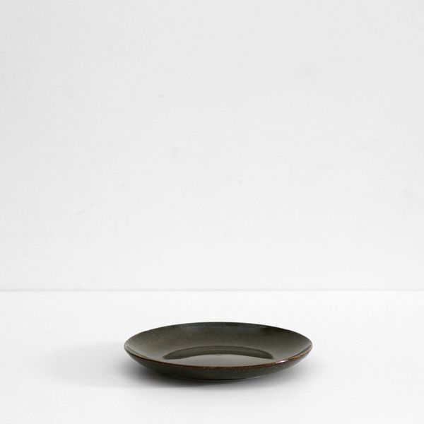 Medium Plate - Lake Green