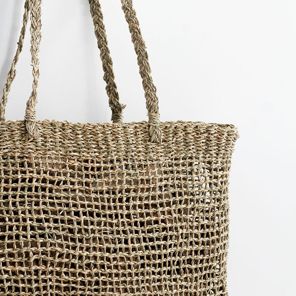 Lally Woven Tote - Large