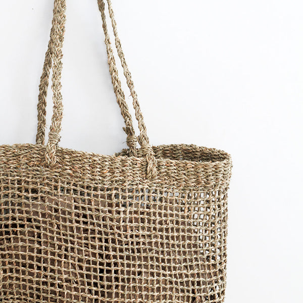 Lally Woven Tote - Small