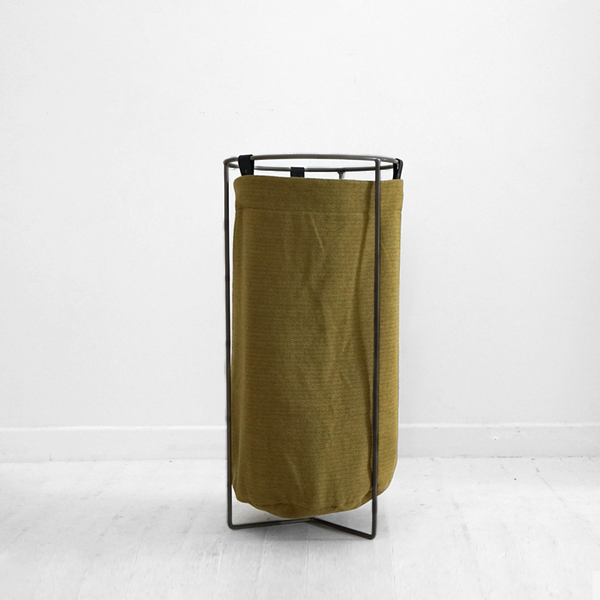 Laundry Basket - Ginger with Black frame