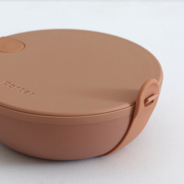 Porter Lunch Bowl Plastic - Tan