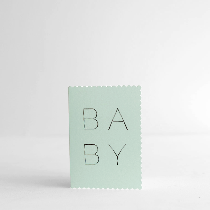 Luxe Baby Boy - Card