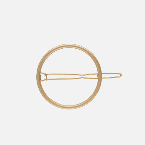Circle Clip - Gold Shine Small