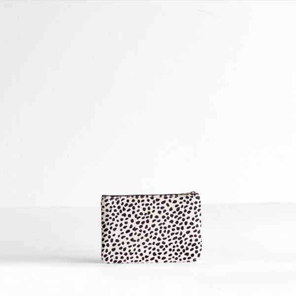 Maud Purse- Snow Cheetah