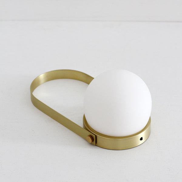 Menu Carrie LED Lamp - Polished Brass