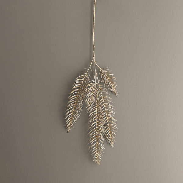 Metallic Pine Branch