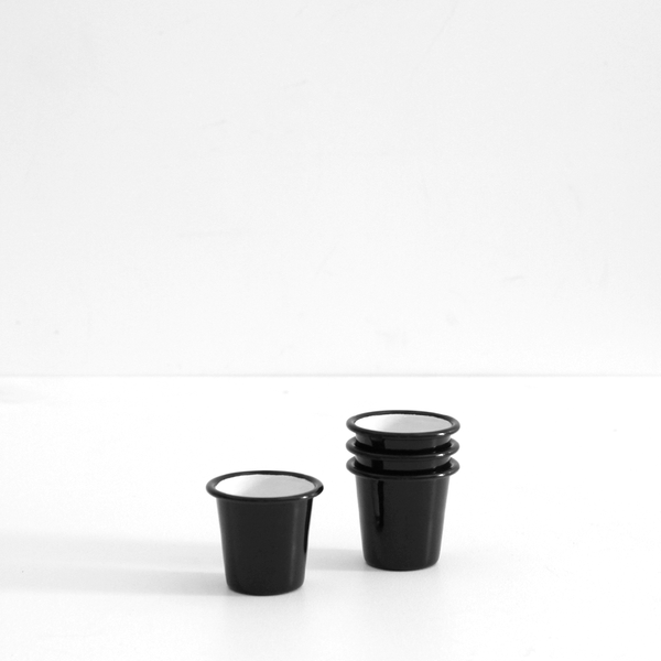 Enamel Mini Tumbler - Black