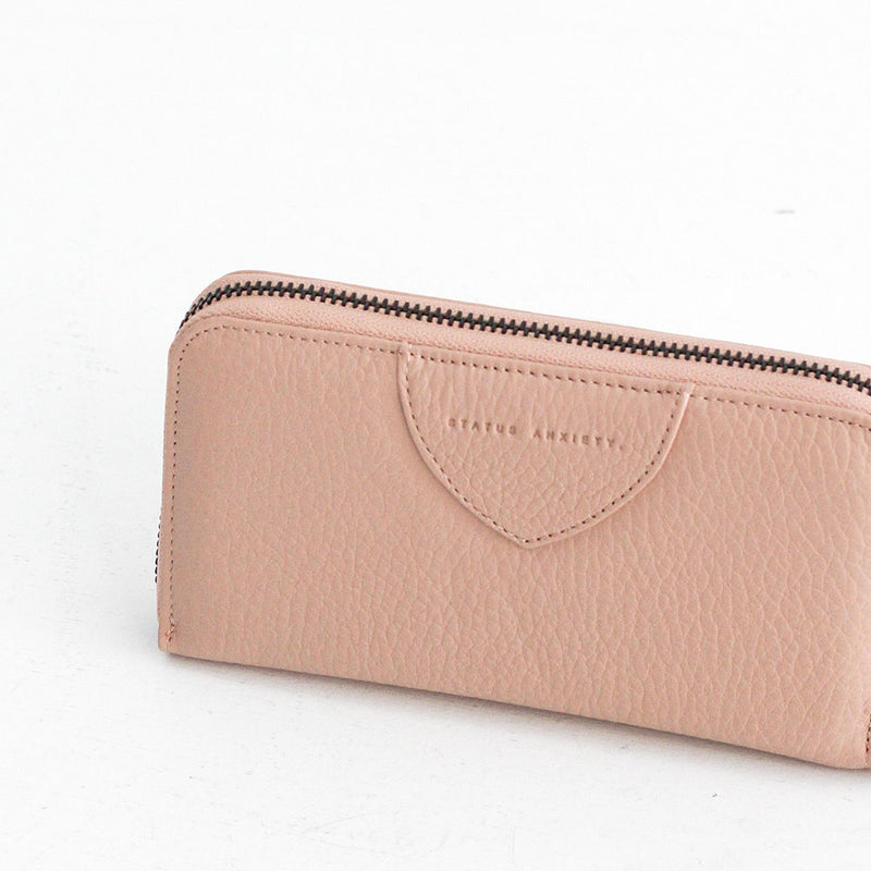 Moving On Wallet - Dusky Pink