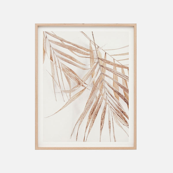 Natural Palm Breeze 1  Framed Artwork
