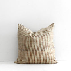 Navajo Cushion - Straw Off White