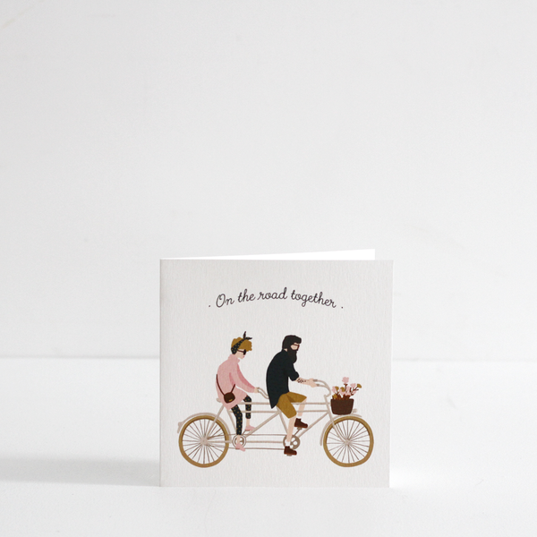 On The Road Together Card
