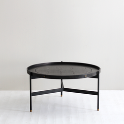 The Oscar Black Coffee Table - Tall