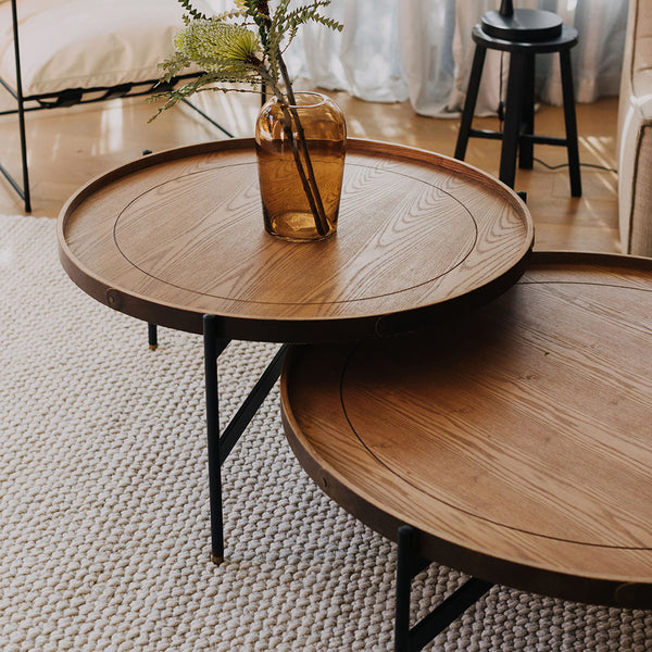 Oscar Ash Coffee Table - Short