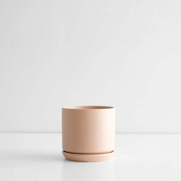 Oslo Planter Peach - Medium