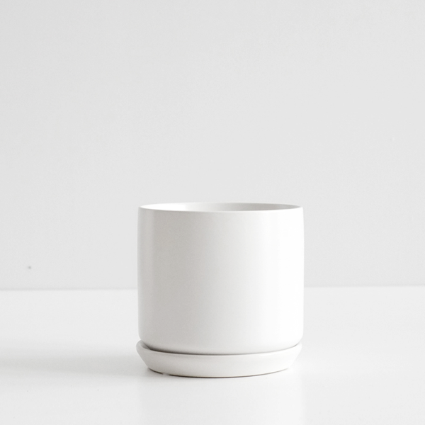 Oslo Planter Ice White - XL